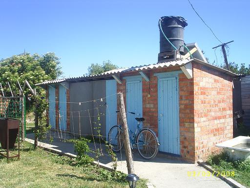 Душ и туалеты для номеров